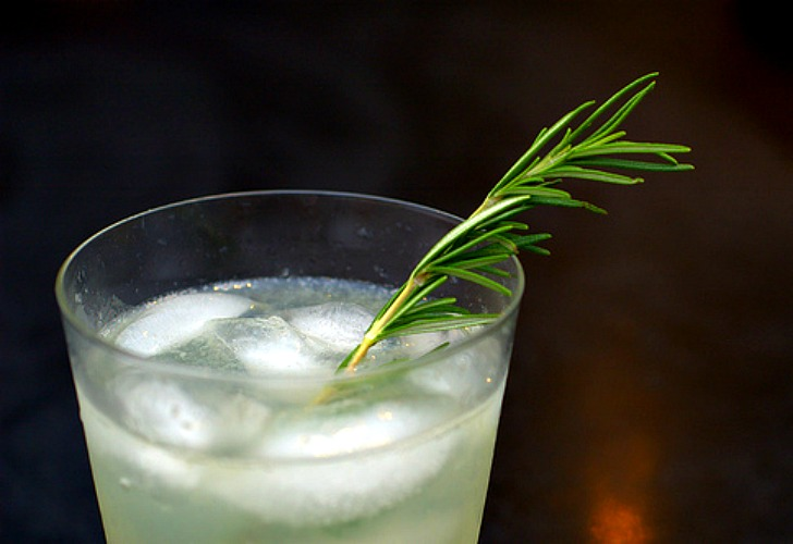 New-Years-Eve-Cocktails-Rosemary-Gin-Fizz